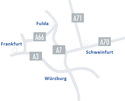 Gewerbepark Kreuzberg - Anfahrt