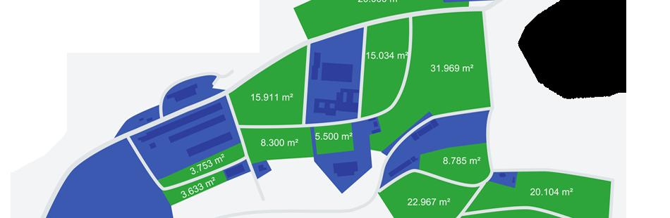 Gewerbepark Flächenplan