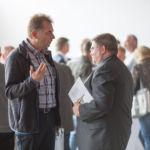 Unternehmer im Gespräch nach dem Wildfleckener Wirtschaftsgespräch 2016