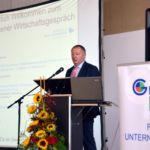 Landrat Thomas Bold beim Wildfleckener Wirtschaftsgespräch 2016